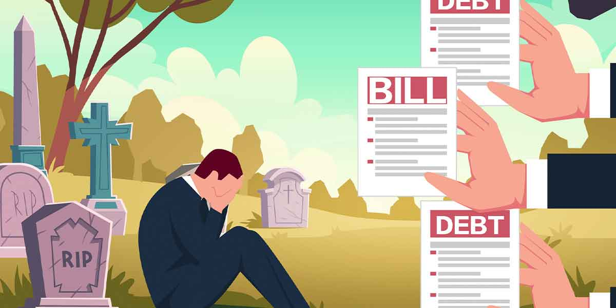 Do credit card debts pass on to legal heirs?